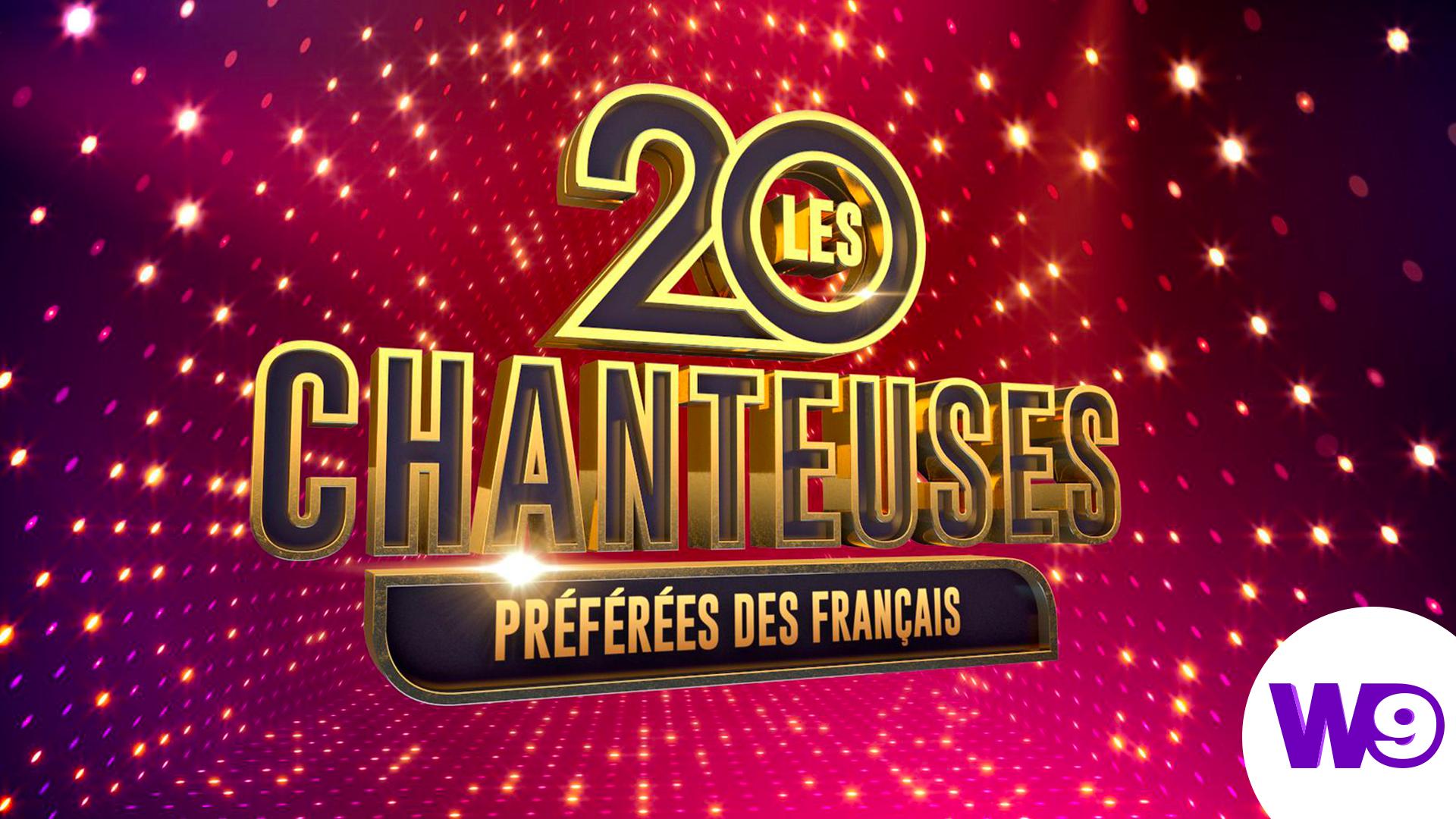 Affiche Les 20 Chanteuses Préférées des Français