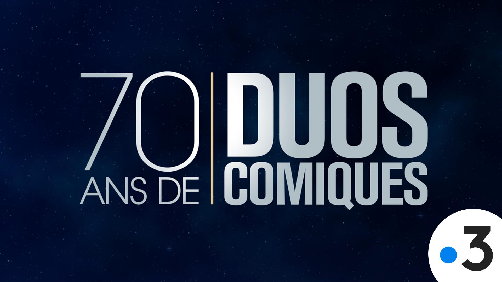 Affiche 70 Ans de Duos Comiques