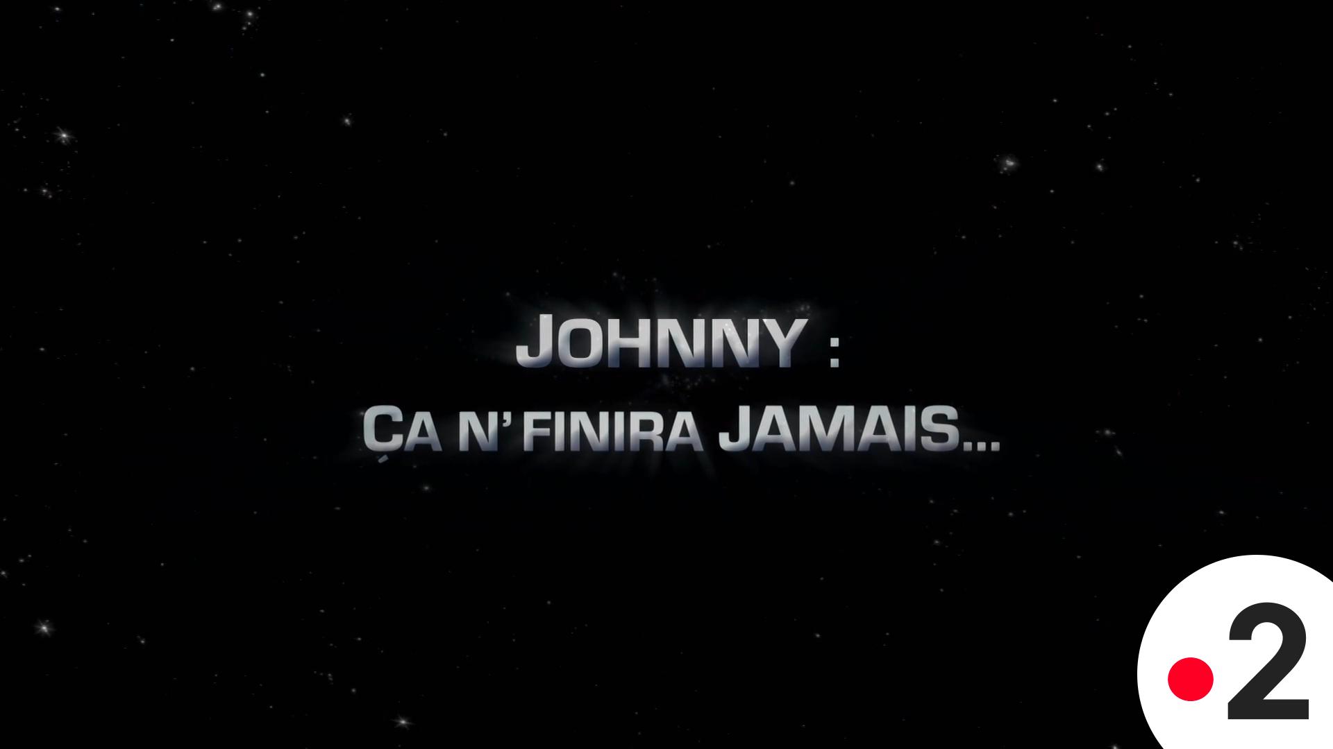 Affiche Johnny Ca ne Finira Jamais