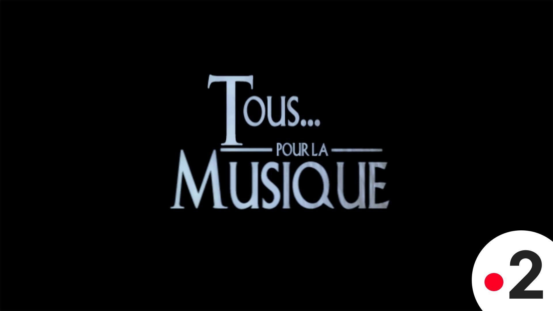 Affiche Tous Pour La Musique