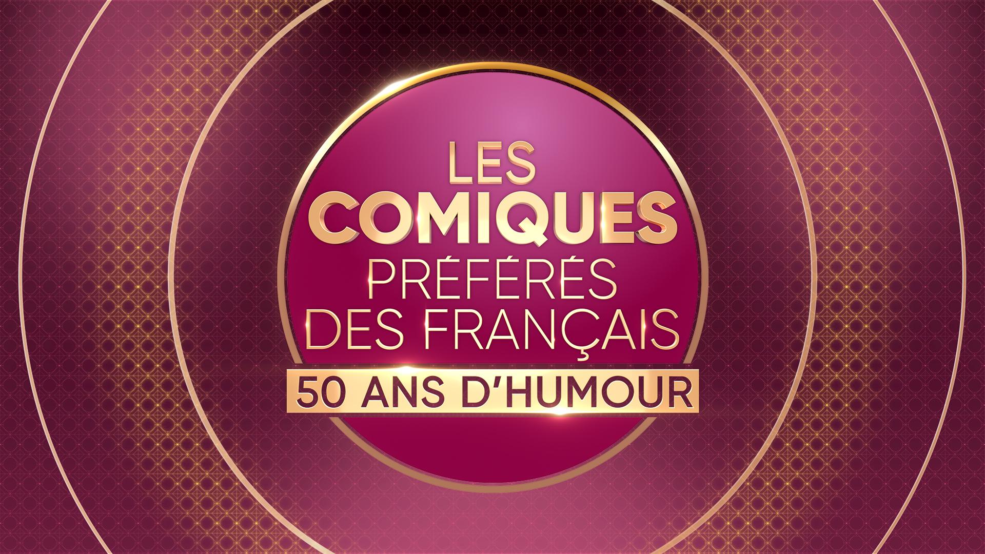 Logo Les Comiques Préférés des Français