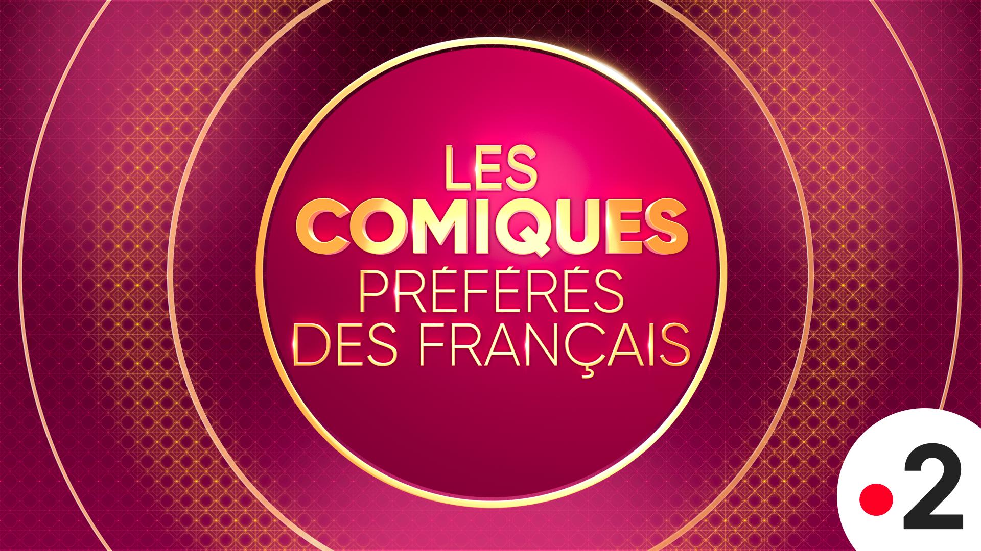 Affiche Les Comiques Préférés des Français